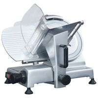 vidaXL Profesionali elektrinė mėsos pjaustyklė, 220mm