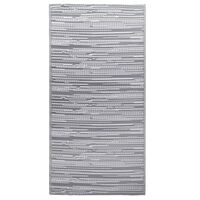 vidaXL Lauko kilimas, pilkos spalvos, 80x150cm, PP