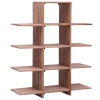 vidaXL Knygų lentyna, 100x30x120cm, tikmedžio medienos masyvas