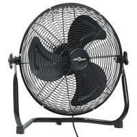 vidaXL Pastatomas ventiliatorius, juodas, 30cm, 3 greičiai, 40W
