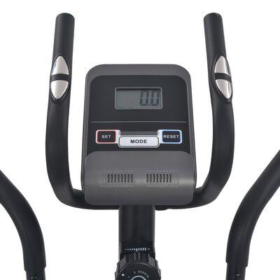 vidaXL Magnetinis elipsinis treniruoklis su pulso matavimu