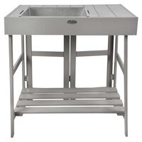 Esschert Design Sodinimo stalas, pilkos spalvos