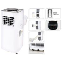 Excellent Electrics Oro kondicionierius su pulteliu, baltas, 1500W
