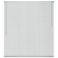 vidaXL Žaliuzės, aliuminis, 60 x 160 cm, sidabro spalvos