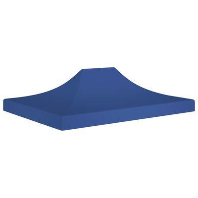 vidaXL Proginės palapinės stogas, mėlynos spalvos, 4,5x3m, 270 g/m²