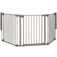 Safety 1st Apsaug. vartai, Modular 3, 3 plokščių, pilkos sp., 82-214cm