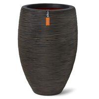Capi Vaza Nature Rib Elegant Deluxe, tamsiai rudos spalvos, 45x72cm
