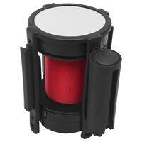 vidaXL Ištraukiamas diržas užtvarai, raudonos spalvos, 200cm