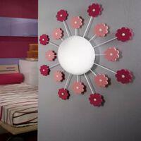 EGLO Sieninis/lubinis šviestuvas VIKI 1, rožinės spalvos, 92147