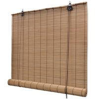 vidaXL Roletai, 150x160cm, bambukas, rudi