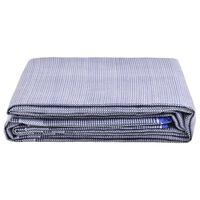 vidaXL Palapinės kilimas, mėlynos spalvos, 650x250cm