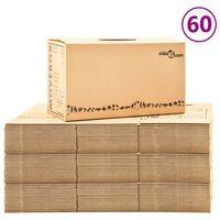 vidaXL Kraustymosi dėžės, 60vnt., 60x33x34cm, XXL (3x30145)