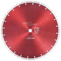 vidaXL Deimantinis pjovimo diskas, plienas, 350mm