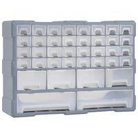 vidaXL Stelažas su 40 stalčių, 52x16x37,5cm