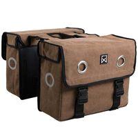 Willex Dviračio krepšiai, 40 l, ruda