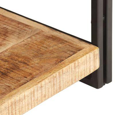 vidaXL TV spintelė, 120x30x40cm, neapdorotos mango medienos masyvas