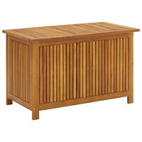 vidaXL Sodo daiktadėžė, 90x50x106cm, akacijos medienos masyvas