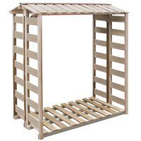 vidaXL Malkinė, 150x90x176 cm, impregnuota pušies mediena