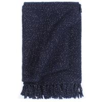vidaXL Pledas, tamsiai mėlynos spalvos, 220x250cm, liureksas