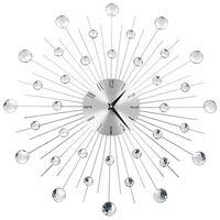 vidaXL Sieninis laikrodis su kvarciniu mechanizmu, modern. diz., 50cm