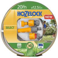 Hozelock Laistymo žarna Select, 20m žarna su pagrindiniais antgaliais