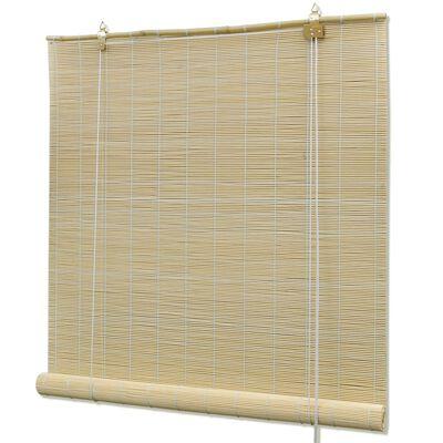 Roletas iš Bambuko, Natūralios Spalvos, 100 x 160 cm