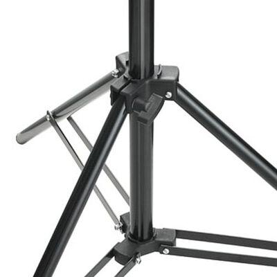 vidaXL Stovas lempoms, aukštis 78 - 210 cm