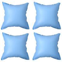 vidaXL Pripučiamos žieminės pagalvės baseino uždangalui, 4vnt., PVC