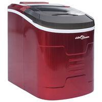 vidaXL Ledukų gaminimo aparatas, raudonos spalvos, 2,4l, 15kg/24val.