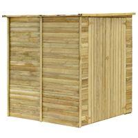 vidaXL Sodo pašiūrė, 157x159x178cm, impregnuota pušies mediena