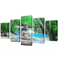"""Fotopaveikslas """"Buda"""" ant Drobės 200 x 100 cm"""