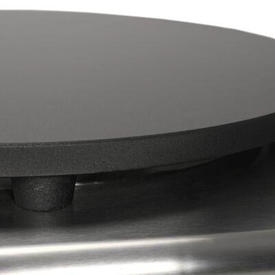 vidaXL Elektrinė lietinių blynų keptuvė su ištrauk. pad., 40cm, 3000W,
