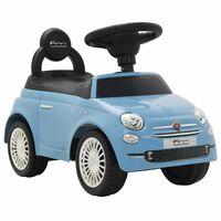 vidaXL Vaikiškas automobilis Fiat 500, mėlynas