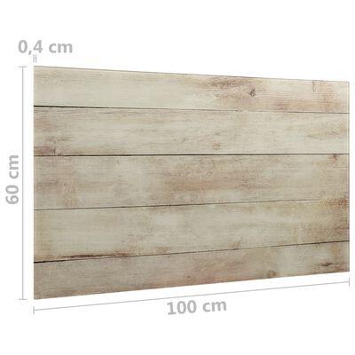 vidaXL Prie sienos montuojama magnetinė lenta, 100x60cm, stiklas