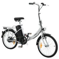 Sulankstomas elektrinis dviratis su akumuliatoriumi, aliuminio lydinys