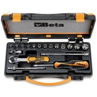 Beta Tools Terkšlės ir movų komplektas 900/C13-5, 18d., 009000953