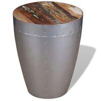 vidaXL Aviator taburetė, perdirbtos medienos masyvas