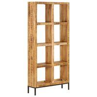 vidaXL Knygų lentyna, 80x25x175cm, mango medienos masyvas