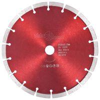 vidaXL Deimantinis pjovimo diskas, plienas, 230mm