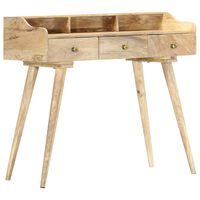 vidaXL Rašomasis stalas, 90x45x86cm, mango medienos masyvas