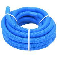 vidaXL Baseino žarna, mėlyna, 32 mm, 15,4 m