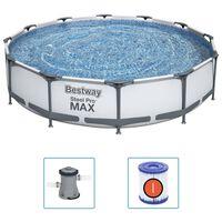 Bestway Steel Pro MAX Baseino rinkinys, 366x76cm