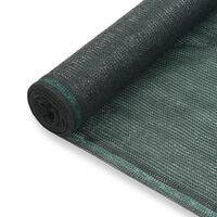 vidaXL Uždanga teniso kortams, žalia, 1,2x50m, HDPE