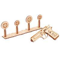 Wood Trick Medinio modelio rinkinys-šautuvas