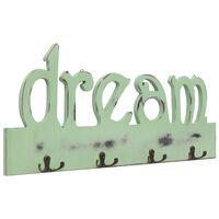 vidaXL Prie sienos montuojama paltų kabykla DREAM, 50x23cm