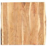 vidaXL Stalviršis, 60x(50-60)x3,8cm, akacijos medienos masyvas