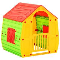 vidaXL Vaikų žaidimų namelis, 102x90x109cm