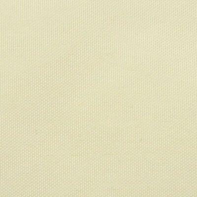 vidaXL Tentas nuo saulės, oksfordo aud., kvadratas, 3,6x3,6m, kreminė