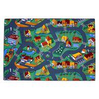 AK Sports Žaidimų kilimėlis, 140x200cm, kaimo gatvių dizaino, 0309004