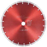 vidaXL Deimantinis pjovimo diskas, plienas, 300mm
